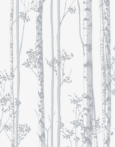 Graham And Brown 100526 Linden Wallpaper-WHITE/GREY-One Size