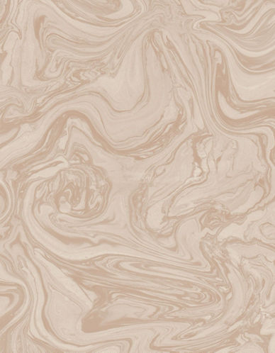 Graham And Brown 100537 Marbled Wallpaper-ROSE/GOLD-One Size