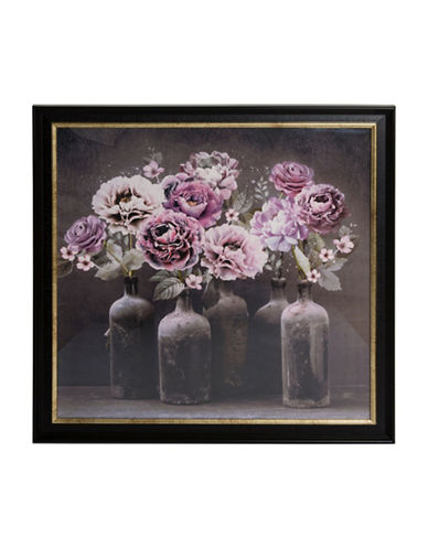 Graham And Brown 101547 Bloom Framed Print-BLK MULTI-One Size