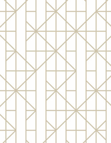 Graham And Brown 103000 Linear Wallpaper-GOLD-One Size