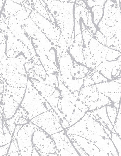 Graham And Brown 103237 Splatter Wallpaper-SILVER-One Size