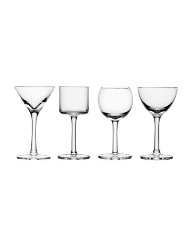 Lsa International Lulu Set of Four Handmade Liqueur Glasses-CLEAR-One Size