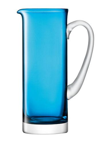 Lsa International Basis Handmade Glass Jug-TURQUOISE-One Size