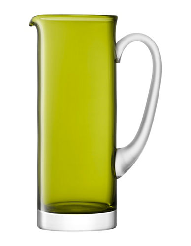 Lsa International Basis Handmade Glass Jug-OLIVE-One Size