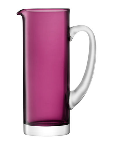 Lsa International Basis Handmade Glass Jug-HEATHER-One Size