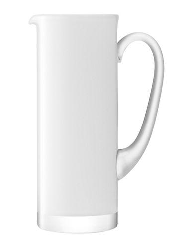 Lsa International Basis Handmade Glass Jug-WHITE-One Size