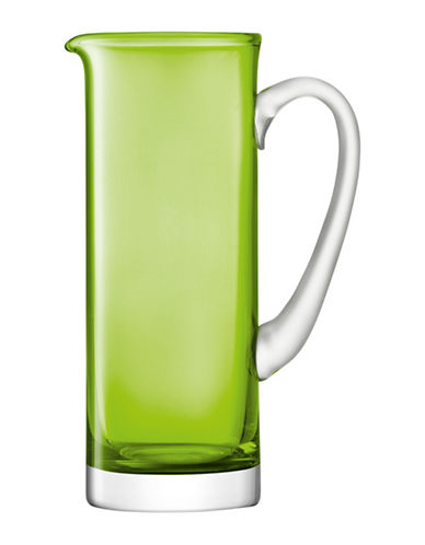 Lsa International Basis Handmade Glass Jug-LIME-One Size
