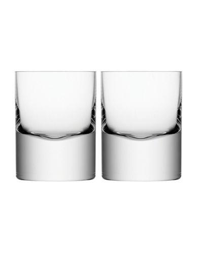 Lsa International Boris Set of Two Handmade Glass Tumblers-CLEAR-250 ml