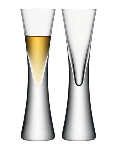 Lsa International Set of Two Moya Liqueur Glasses-CLEAR-One Size
