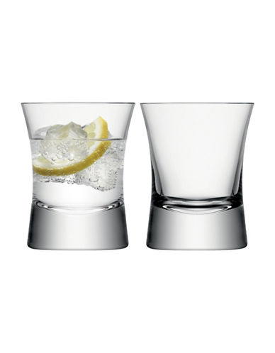 Lsa International Set of Two Moya Tumblers-CLEAR-One Size
