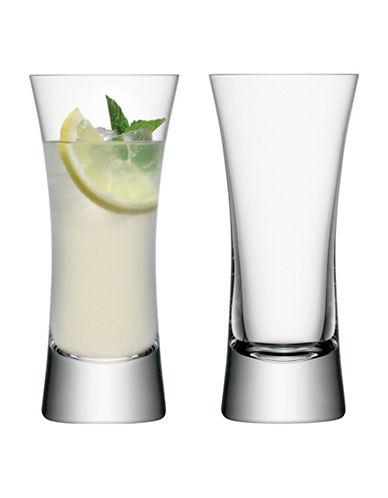 Lsa International Set of Two Moya Highball Glasses-CLEAR-One Size