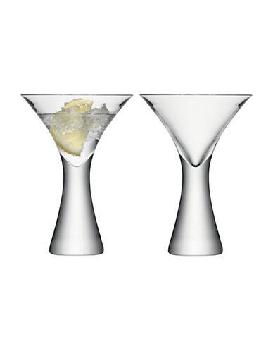 Lsa International Set of Two Moya Moya Cocktail Glasses-CLEAR-300 ml