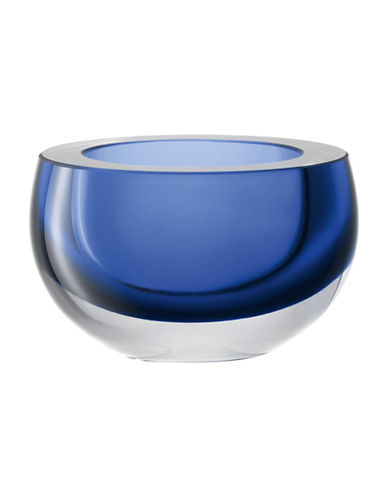 Lsa International 3.7-Inch Flat Rim Host Bowl-SAPPHIRE-One Size