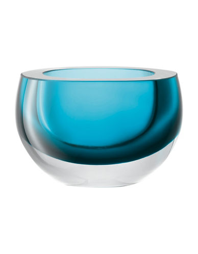 Lsa International 5.9-Inch Clear Glass Host Bowl-TEAL-15