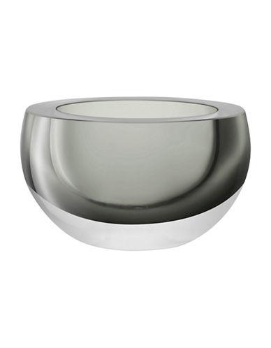 Lsa International 3.7-Inch Flat Rim Host Bowl-GREY-One Size