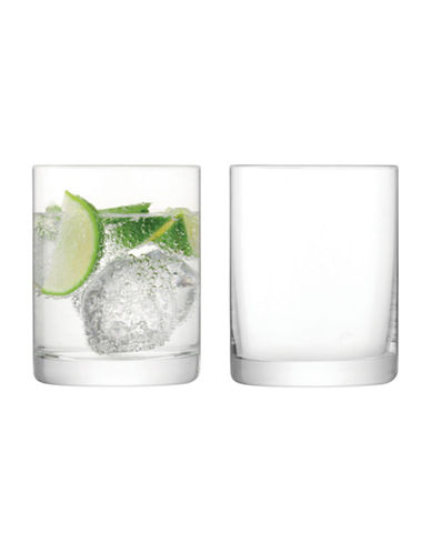 Lsa International Set of Four Otis Tumblers-CLEAR-One Size