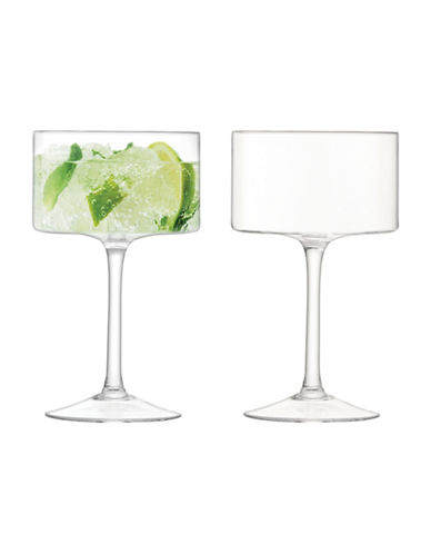 Lsa International Set of Four Cocktail Glasses-CLEAR-One Size