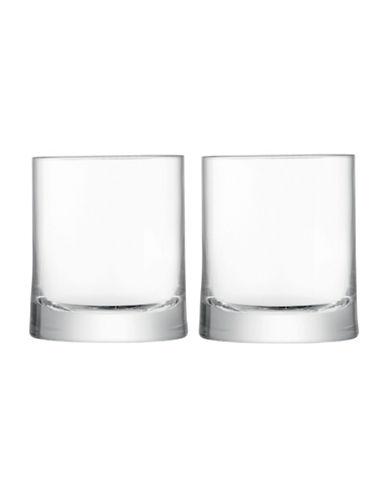 Lsa International Gin Set of Two Handmade Glass Tumblers-CLEAR-One Size