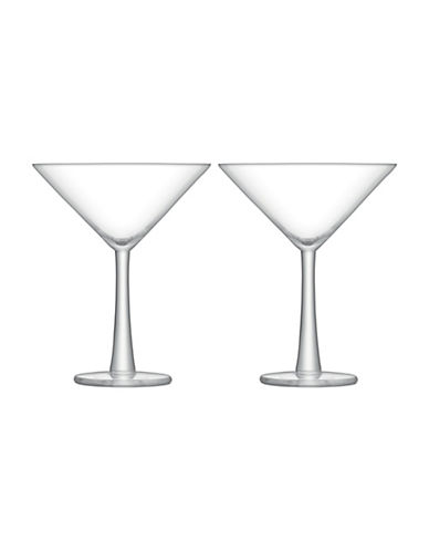 Lsa International Gin Set of Two Cocktail Glasses-CLEAR-One Size