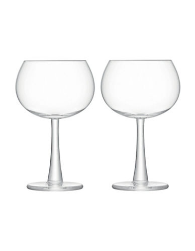 Lsa International Gin Set of Two Handmade Balloon Glasses-CLEAR-One Size