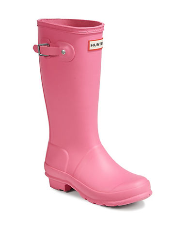 Hunter Original Wellington Rain Boots-PINK-3
