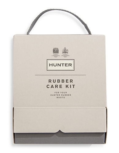 Hunter Three-Piece Rubber Care Kit-NO COLOR-One Size
