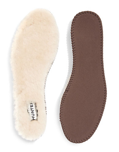 Hunter Luxury Shearling Insoles-NATURAL-8