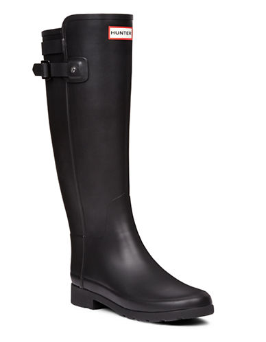 Hunter Original Tall Rain Boots-BLACK-11