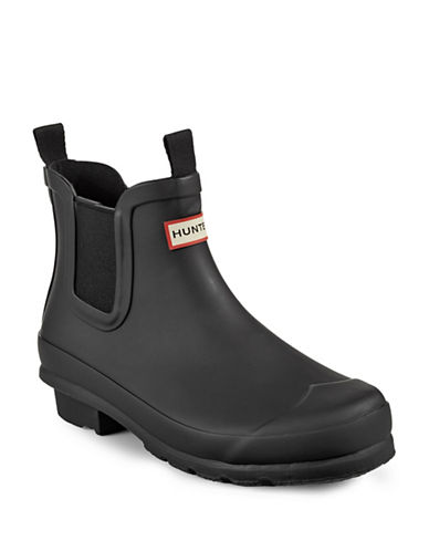 Hunter Kids Original Chelsea Boots-BLACK-1