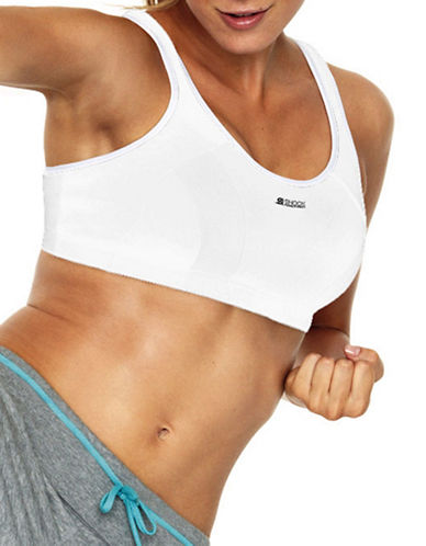 Shock Absorber High Support Active Multisports Support Bra-WHITE-34G