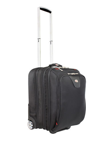 Gino Ferrari Hanover 17-Inch Onboard Roller Suitcase-BLACK-One Size
