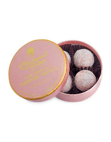 Charbonnel Et Walker Set of Four Pink Marc de Champagne Truffles-NO COLOUR-One Size