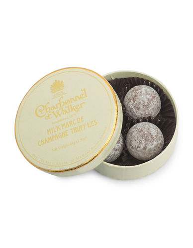 Charbonnel Et Walker Set of Four Milk Marc de Champagne Truffles-NO COLOUR-One Size