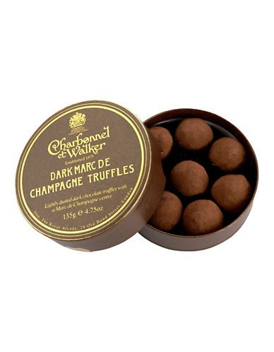 Charbonnel Et Walker Marc De Champagne Dark Truffles-NO COLOUR-One Size