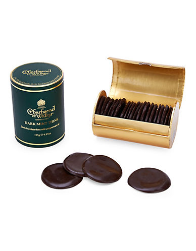 Charbonnel Et Walker Set of 20 Dark Mint Thins-NO COLOUR-One Size