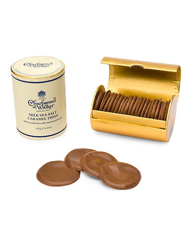 Charbonnel Et Walker Set of 20 Milk Sea Salt Caramel Thins-NO COLOUR-One Size