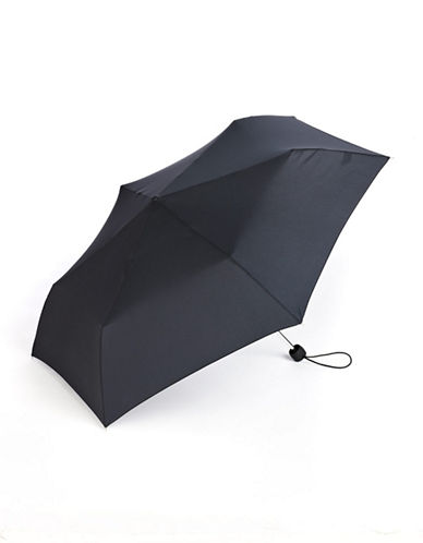 Fulton Superslim Umbrella-BLACK-One Size