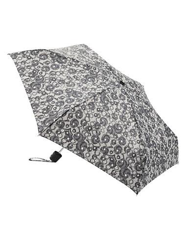 Fulton Open And Close Umbrella-BLACK-One Size