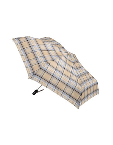Fulton Open And Close Umbrella-BEIGE-One Size