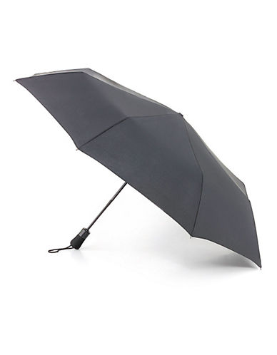 Fulton Open And Close Jumbo Umbrella-BLACK-One Size