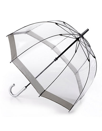 Fulton Birdcage Umbrella-SILVER-One Size