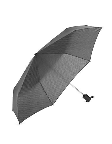 Fulton Automatic Herringbone Umbrella-BLACK-One Size