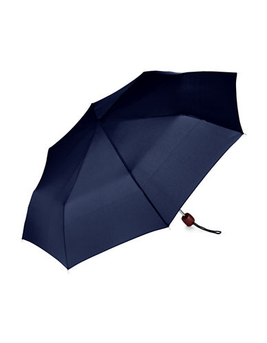 Fulton Stowaway Deluxe Umbrella-NAVY-One Size