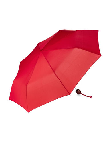 Fulton Stowaway Deluxe Umbrella-RED-One Size