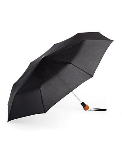Fulton Minilite 1 Folding Umbrella-BLACK-One Size