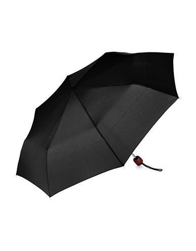 Fulton Stowaway Deluxe Umbrella-BLACK-One Size