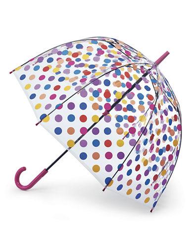 Fulton Polka Dot Birdcage Umbrella-SMALL SPOTS-One Size