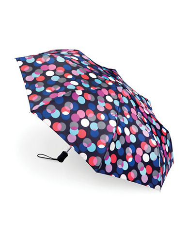 Fulton Open and Close Layered Spots Umbrella-MULTI-One Size