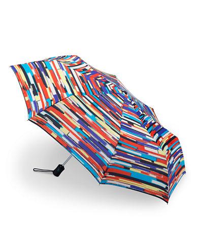 Fulton Open and Close Graphic Stripe Umbrella-STRIPE-One Size