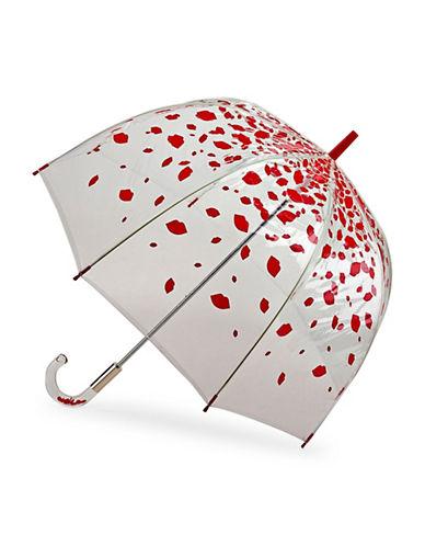 Lulu Guinness Birdcage Umbrella-LIPS-One Size